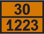 """Информационная табличка опасного груза """"Керосин"""" (30-1223)"""