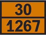 """Информационная пасхалия опасного груза """"Нефть сырая"""" (30-1267)"""