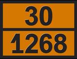 """Информационная сетка опасного груза """"Нефтепродукты"""" (30-1268)"""