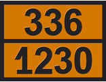 "Информационная матрица опасного груза ""Метанол"" (336-1230)"